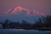 Mount Baker as seen from Garry Point Park.